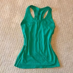Champion green workout tank